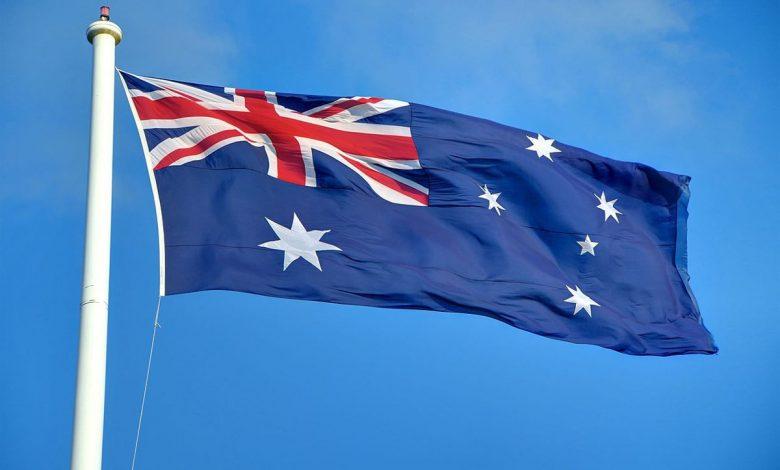 عکس پرچم کشور استرالیا