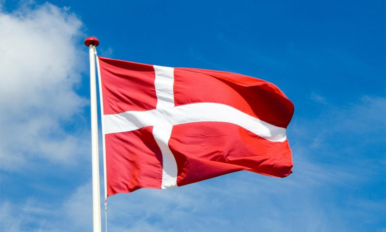 عکس پرچم کشور دانمارک