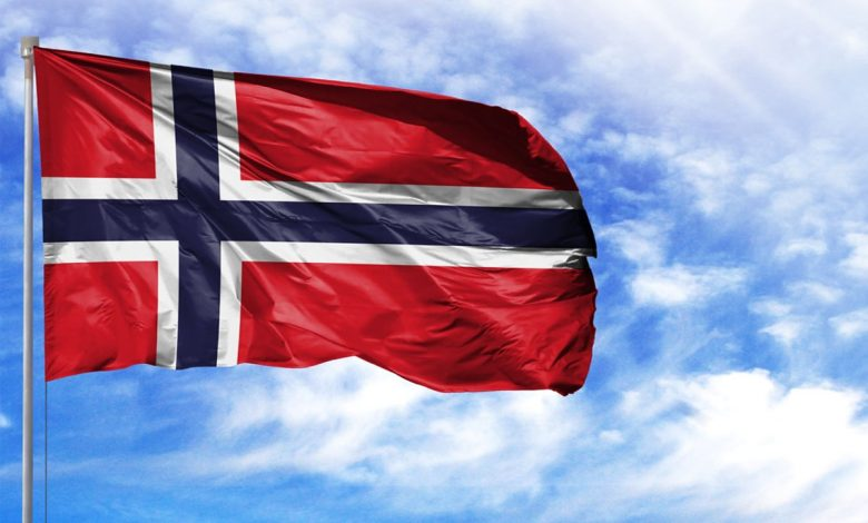 عکس پرچم کشور نروژ