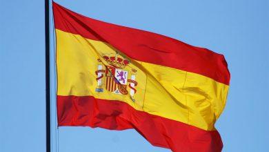 عکس پرچم کشور اسپانیا