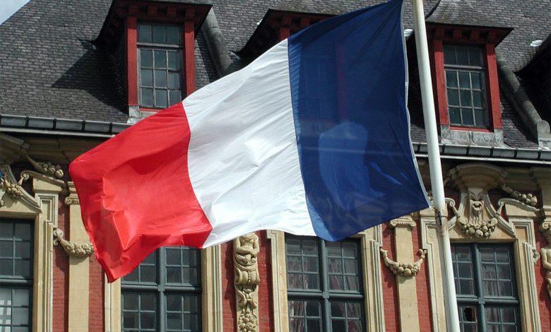 عکس پرچم کشور فرانسه