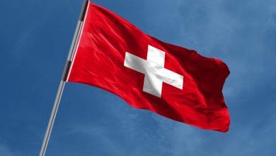 عکس پرچم کشور سوئیس