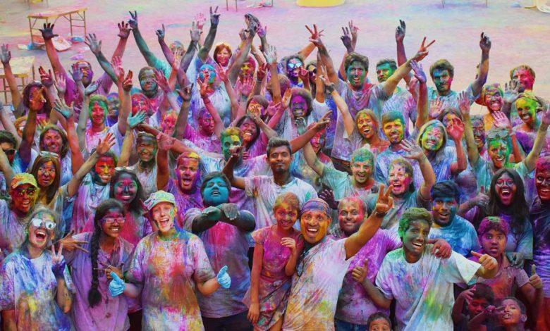 کشور رنگین و زیبای هند
