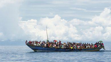 عکس افراد پناهنده