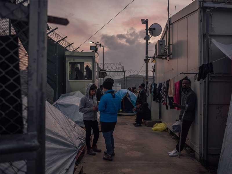 شرایط نامطلوب زندگی در کمپ های پناهندگان