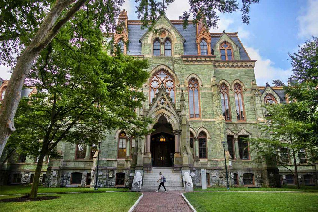 عکس دانشگاه پنسیلوانیای امریکا
