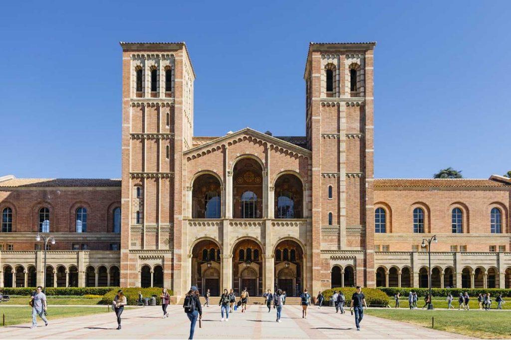 عکس دانشگاه کالیفرنیا- لس انجلس