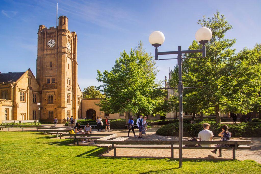 دانشگاه ملبورن استرالیا رتبه 41 جهان