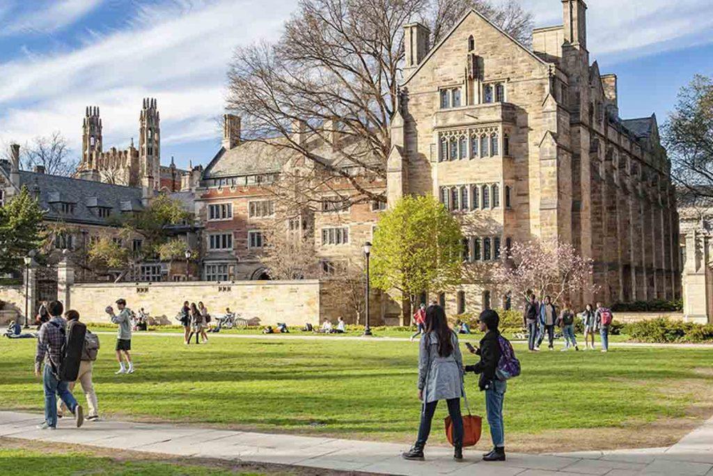 عکس دانشگاه ییل امریکا